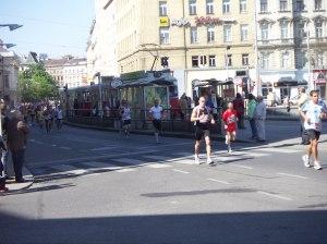 Wien-Marathon sorgt für gute Luft