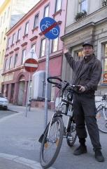 Dieses Foto entstand 2003. So lange fordern wir bereits die Vollendung der Radfahranlage in der Kl. Sperlgasse