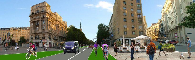 So könnte die Praterstraße auch aussehen