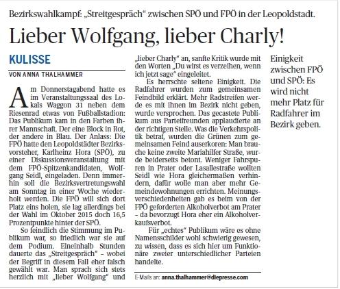 """Die Presse"" vom 10.09.2016"